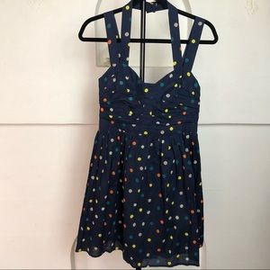 French Connection Polka Dot Sundress